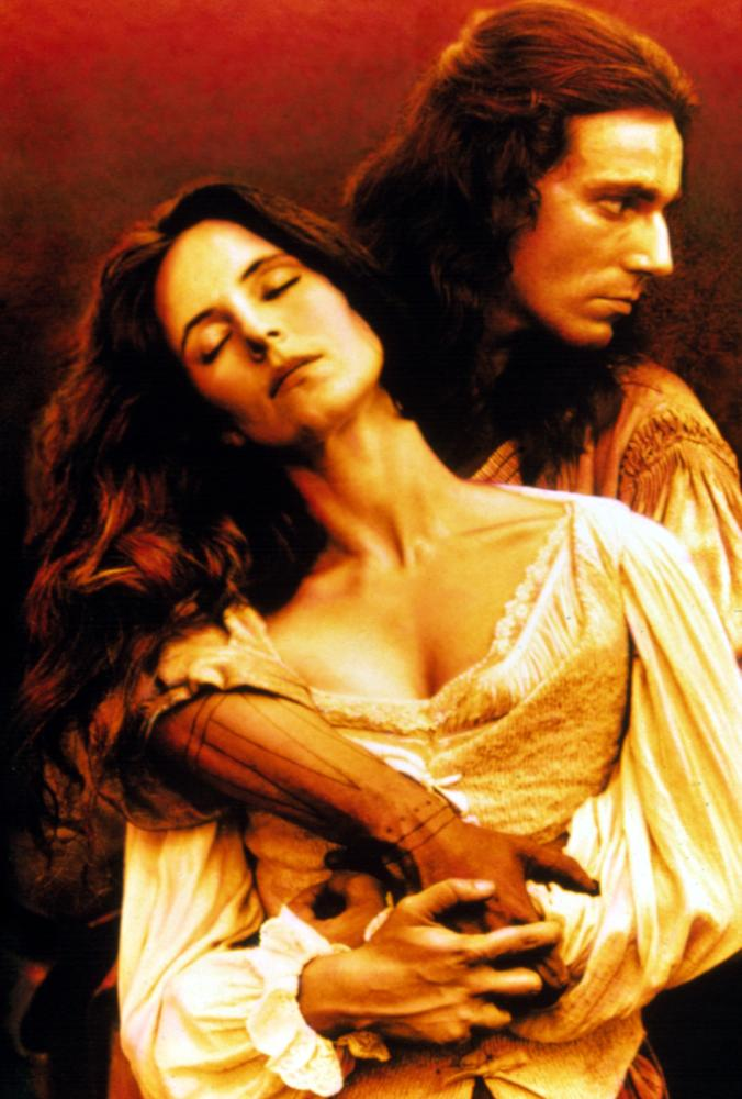 Daniel Day-Lewis and Madeleine Stowe in The Last of the Mohicans 1992