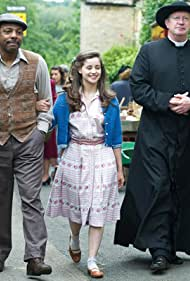 Holly Earl, Mark Williams, and Don Gilet in Father Brown (2013)