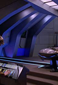 Brent Spiner and Michele Scarabelli in Star Trek: The Next Generation (1987)