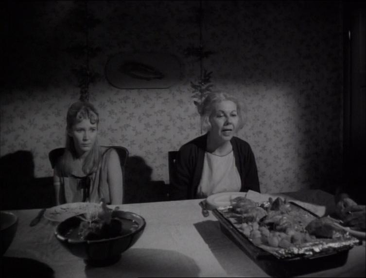 Jeanne Bates and Charlotte Stewart in Eraserhead (1977)