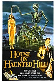 Vincent Price and Carolyn Craig in House on Haunted Hill (1959)