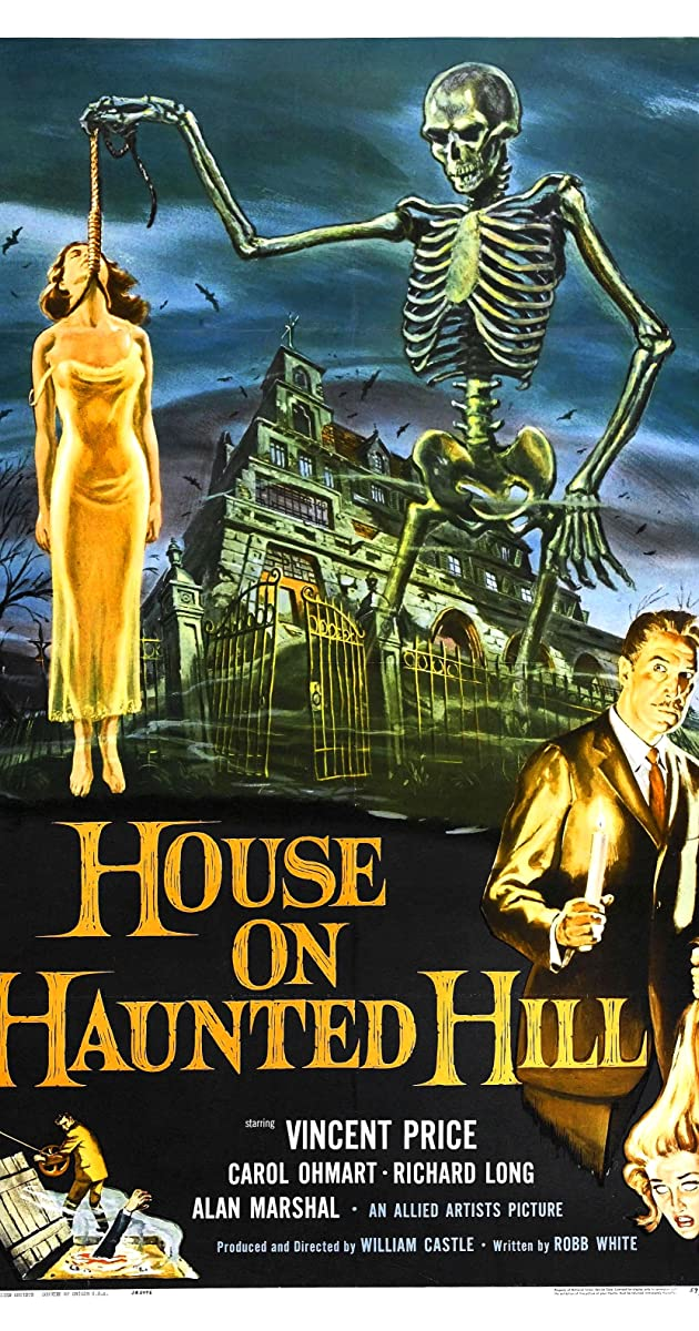 House On Haunted Hill 1959 Imdb