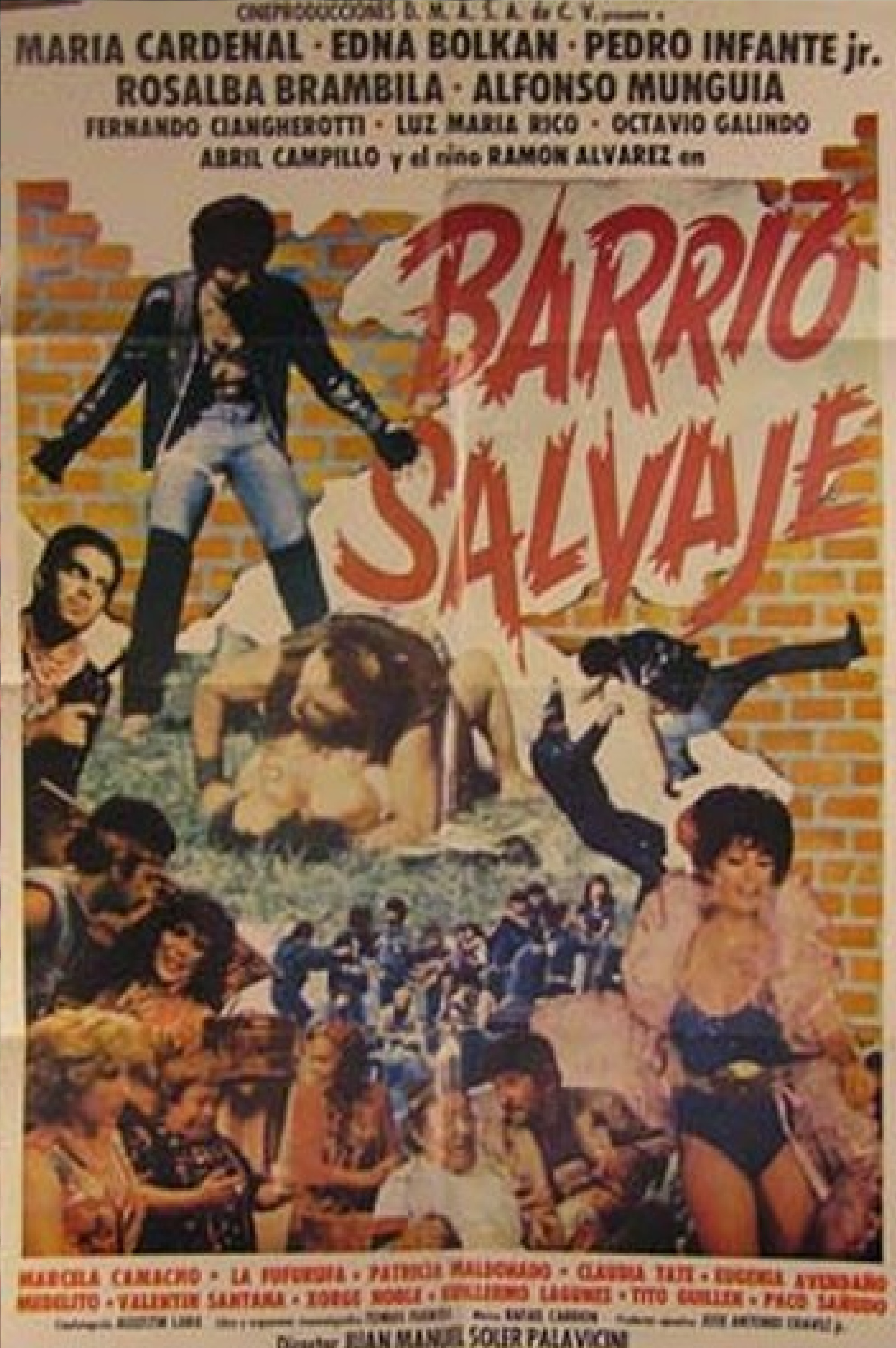 Barrio salvaje ((1985))