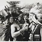 Chief John Big Tree and Monte Blue in Hawk of the Wilderness (1938)