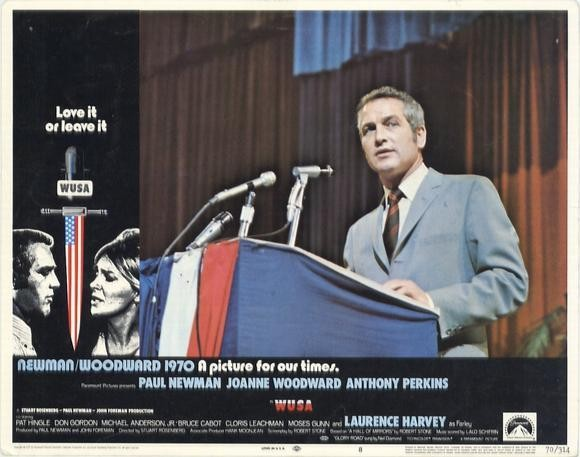 Paul Newman in WUSA (1970)