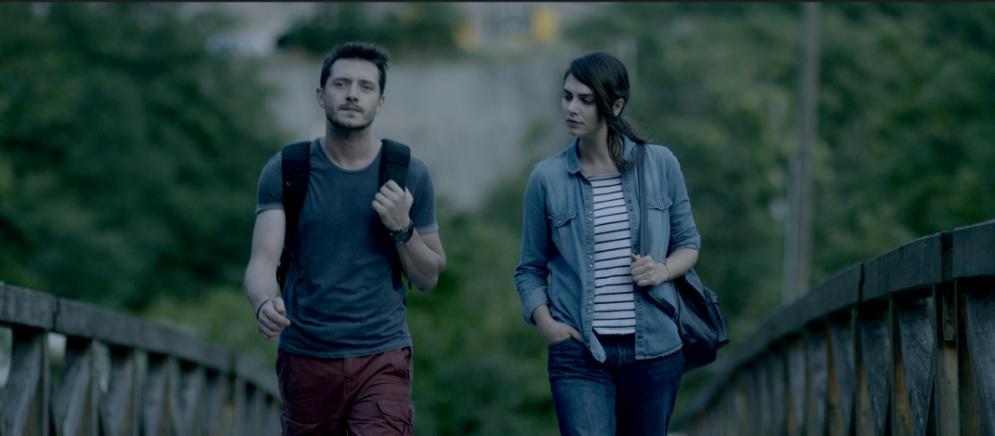 Serkan Senalp and Natasha Petrovic in Secret from the Past (2017)