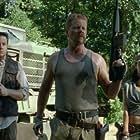 Michael Cudlitz, Christian Serratos, and Josh McDermitt in The Walking Dead (2010)
