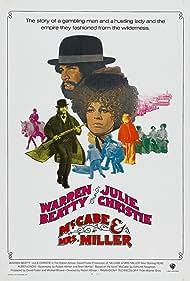 Warren Beatty and Julie Christie in McCabe & Mrs. Miller (1971)