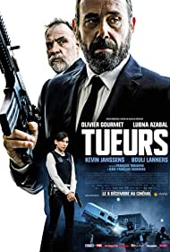 Lubna Azabal, Bouli Lanners, Olivier Gourmet, and Kevin Janssens in Tueurs (2017)