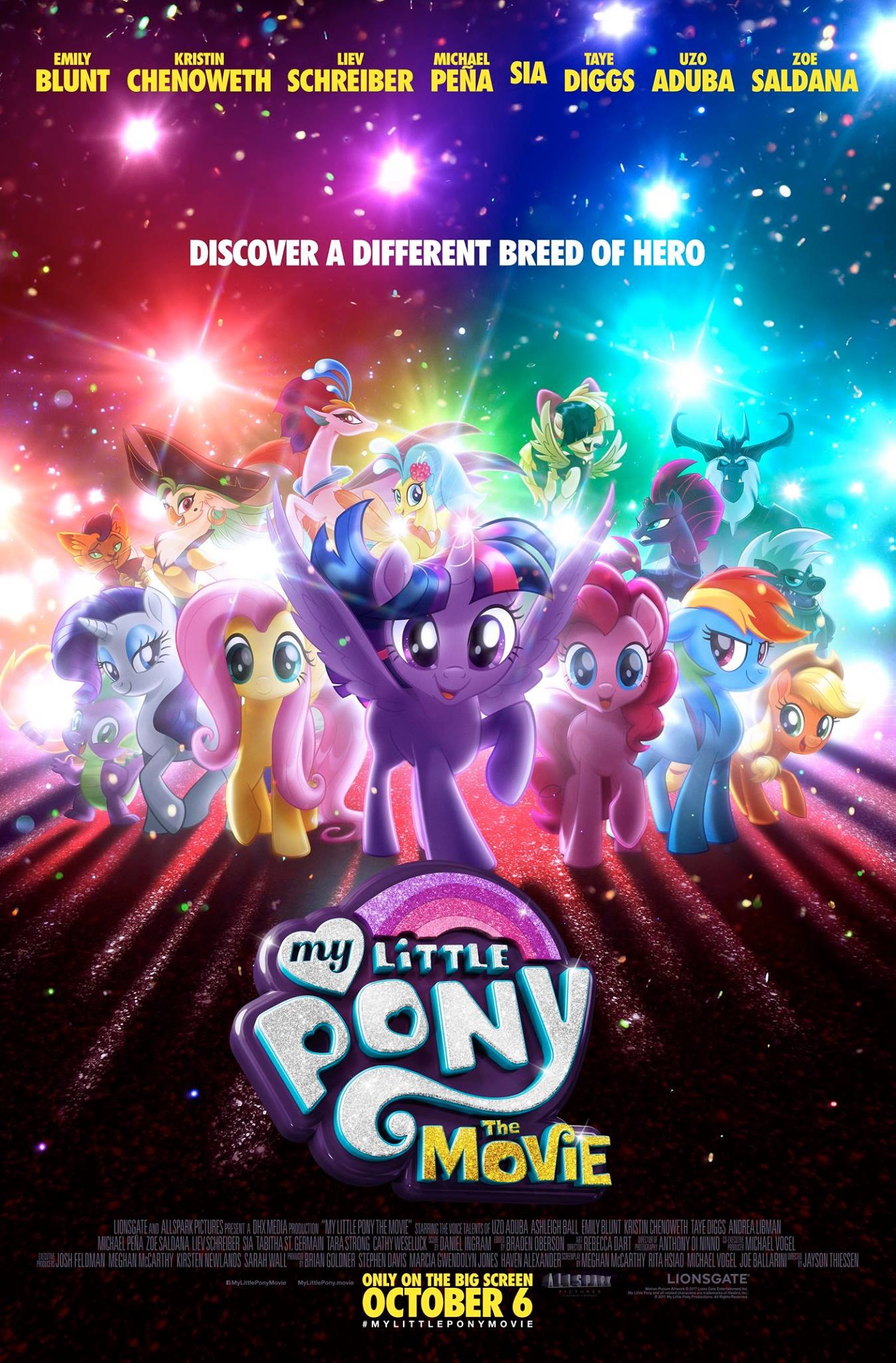 My Little Pony: The Movie (2017) BluRay 480p, 720p & 1080p