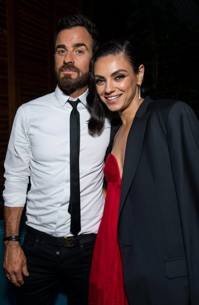 justin theroux dating 2018