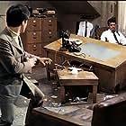 Bruce Lee and James Garner in Marlowe (1969)