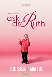 Image result for Ask Dr Ruth movie poster