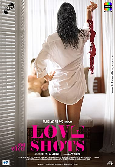 Poster of Love Shots 2019 Full Hindi Free Download Watch Online In HD Movie Download 720p HDRip