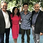 Benjamin Hollingsworth, Jerry Wasserman, Barry Levy and Robyn Bradley in Love Under the Olive Tree (2020)