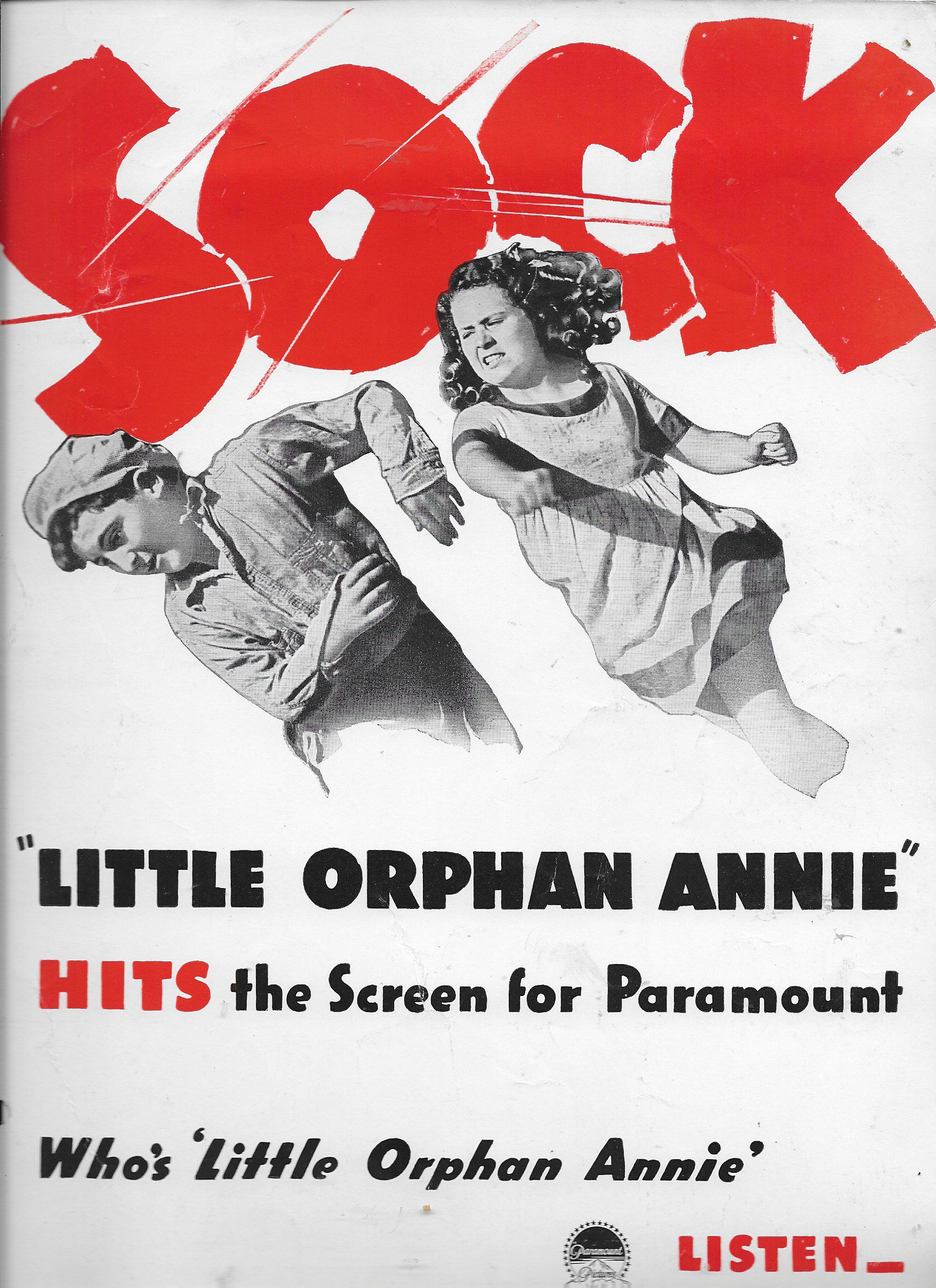 Tommy Bupp and Ann Gillis in Little Orphan Annie (1938)
