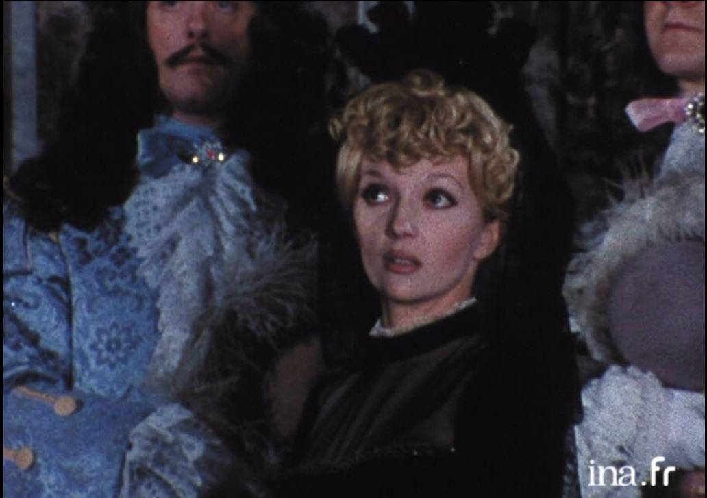 Caroline Cellier in Molière pour rire et pour pleurer (1973)