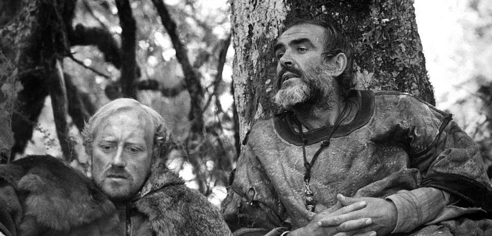 Sean Connery and Nicol Williamson in Robin and Marian (1976)