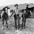Dean Stockwell and Joel McCrea in Cattle Drive (1951)