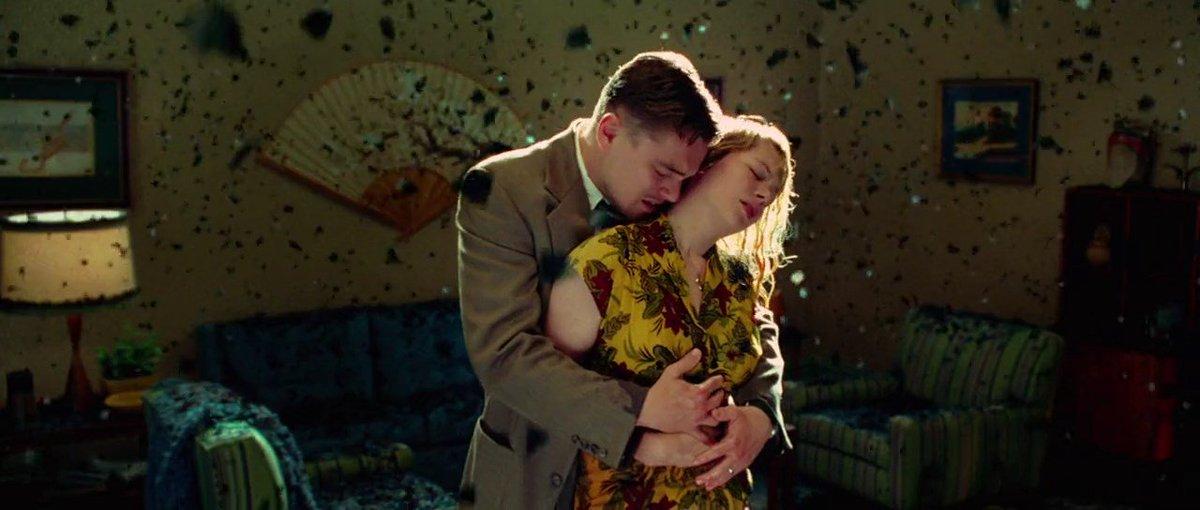 Leonardo DiCaprio and Michelle Williams in Shutter Island (2010)