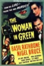 The Woman in Green (1945) Poster