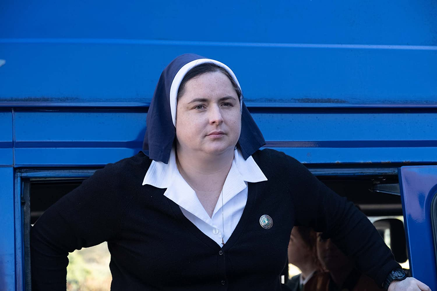 Siobhan McSweeney in Derry Girls (2018)