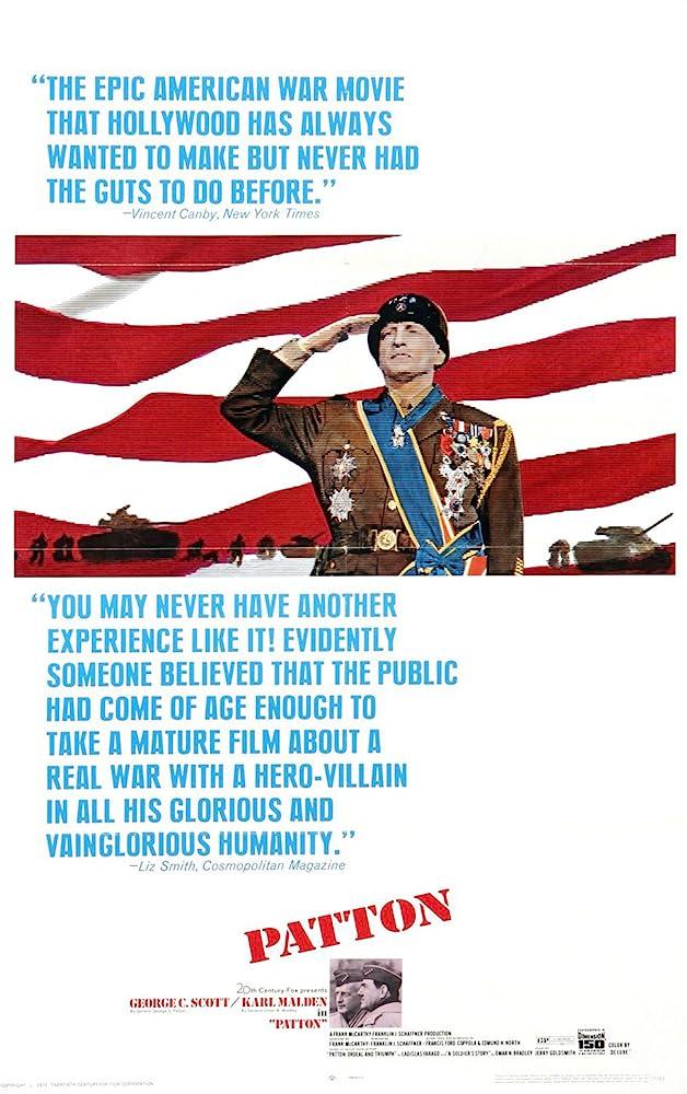 George C. Scott in Patton (1970)