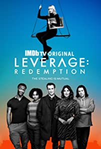 Noah Wyle, Gina Bellman, Aldis Hodge, and Christian Kane in Leverage: Redemption (2021)