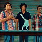 Vijay Ram, Abdul Jabbar, and Naveen in Super Deluxe (2019)