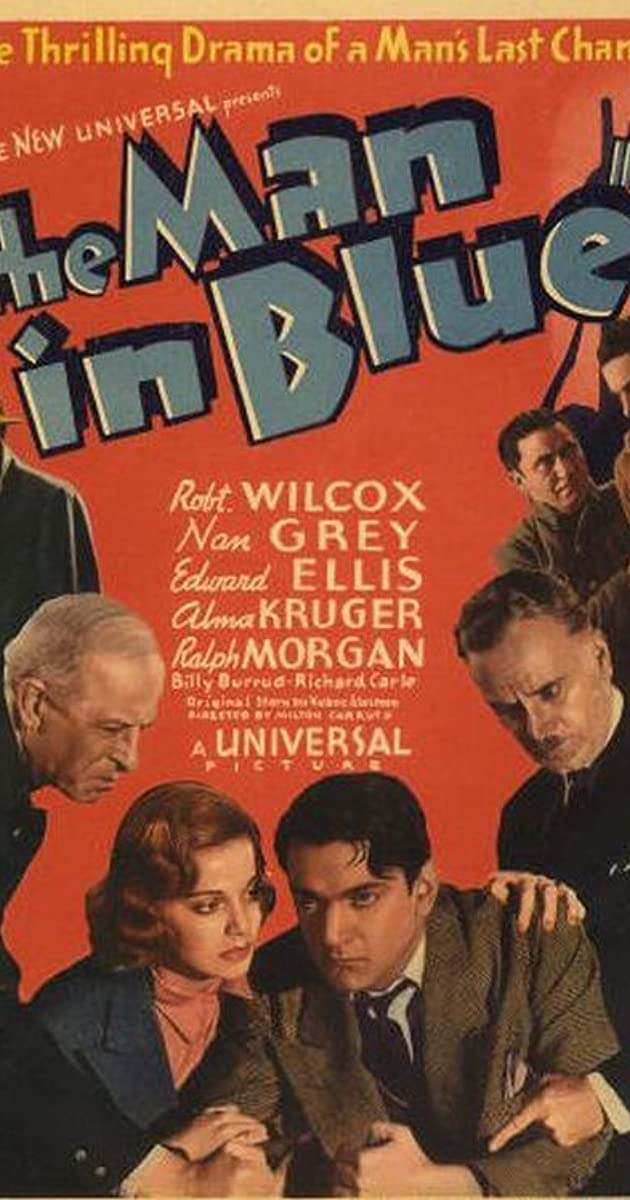 The Man In Blue 1937 Imdb