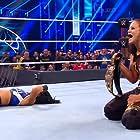 Pamela Martinez and Shayna Andrea Baszler in WWE Survivor Series (2019)