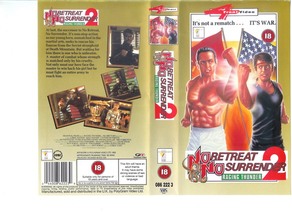 No Retreat, No Surrender 2 (1987)