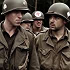 Damian Lewis, Ron Livingston, and Shane Taylor in Band of Brothers (2001)