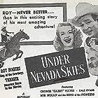 Roy Rogers, Dale Evans, George 'Gabby' Hayes, and Trigger in Under Nevada Skies (1946)