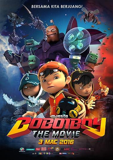 Poster of BoBoiBoy: The Movie 2016 Full Hindi Dual Audio Movie Download HDRip 480p