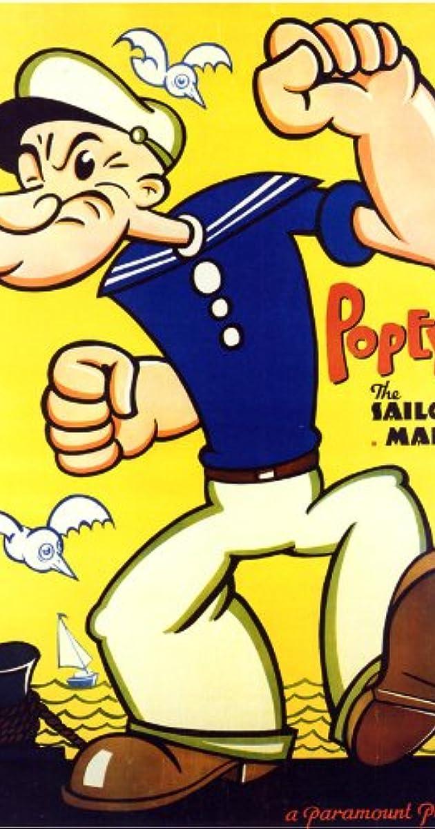 "Move Poster Popeye Cartoon 6.5/""x10/"" Photo"