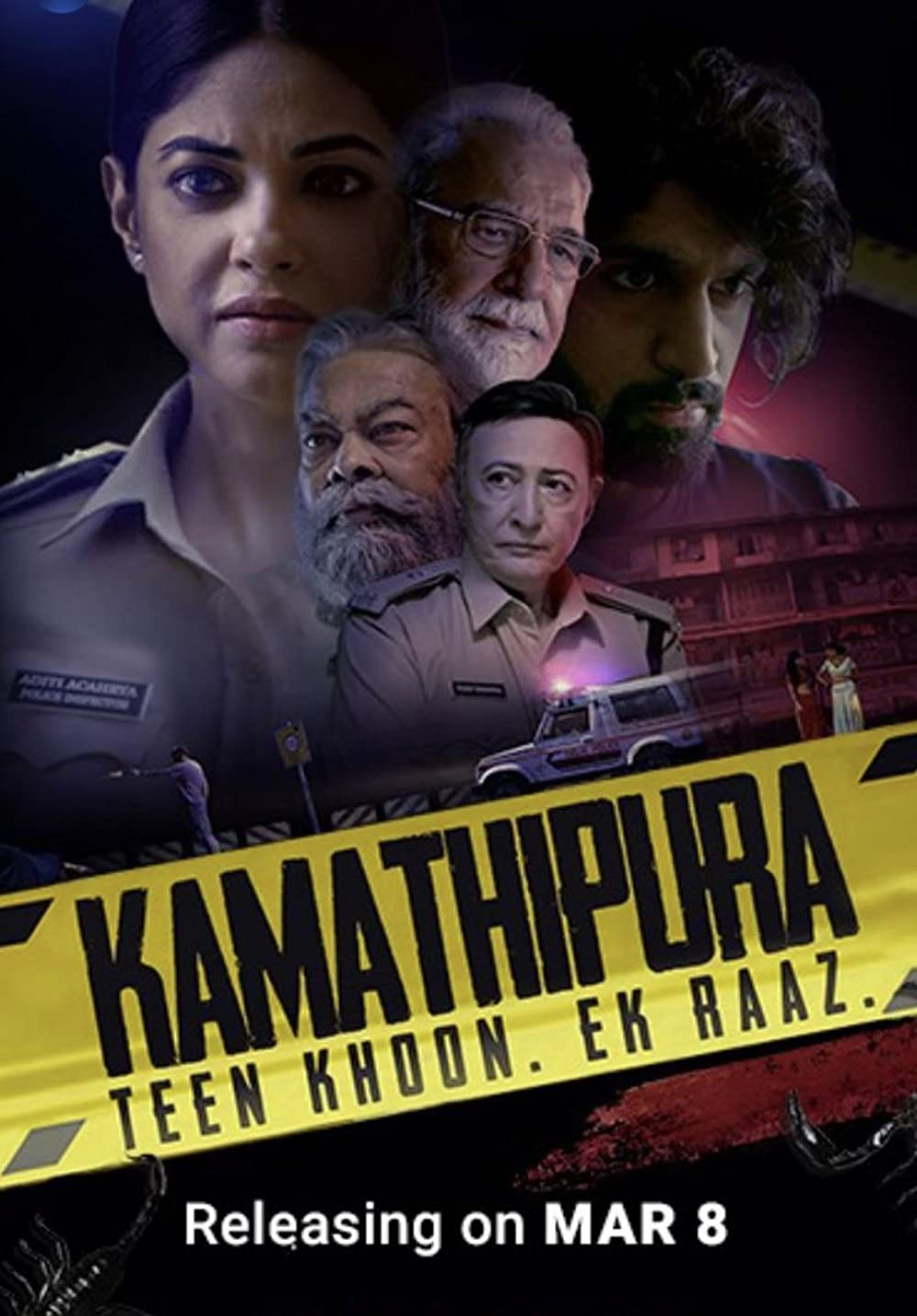 Download Kamathipura 2021 S01 Hindi Complete AMZN Prime Web Series 480p HDRip 750MB