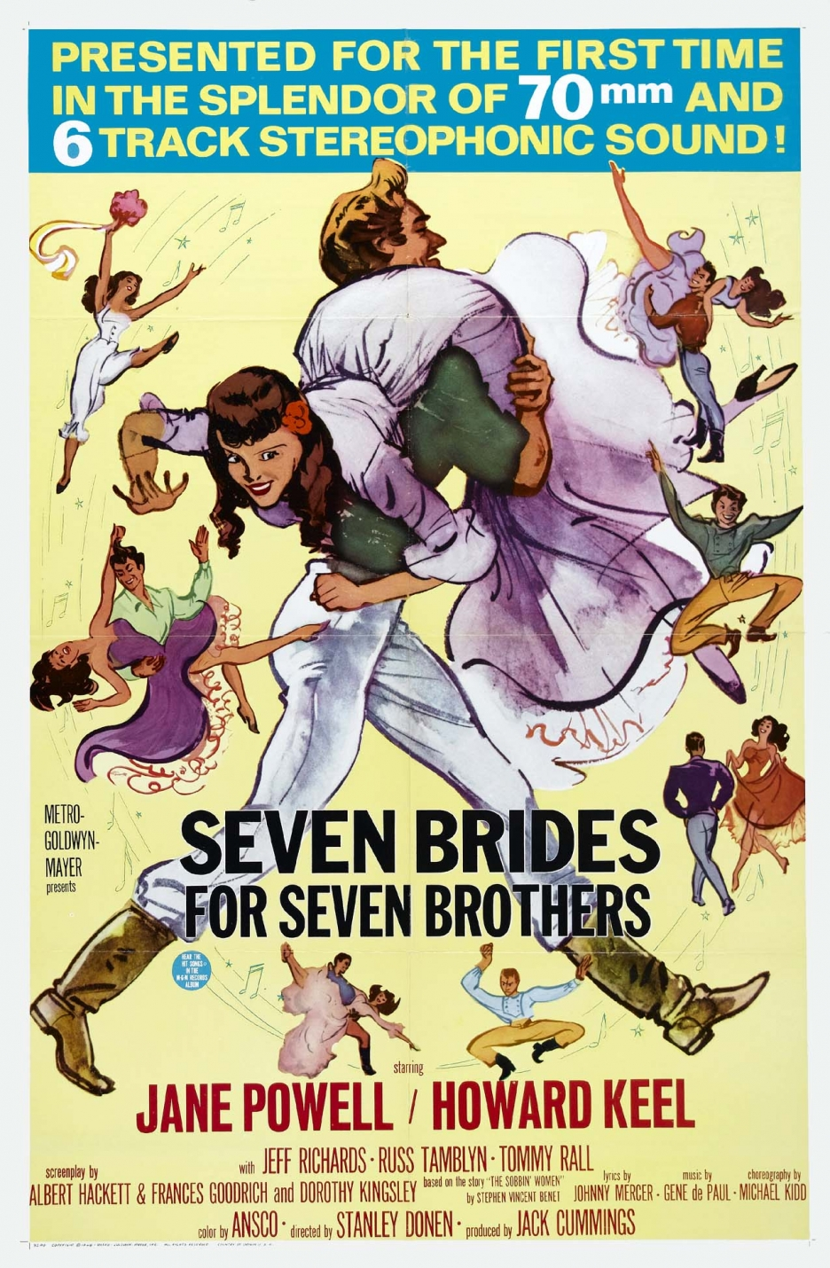 Seven Brides for Seven Brothers (1954) - IMDb