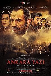 Ankara Yazi Veda Mektubu Poster