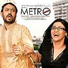 Irrfan Khan and Konkona Sen Sharma in Life in a Metro (2007)