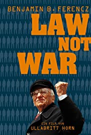 Law Not War Poster
