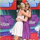 Katherine McNamara and Olivia Holt on the red carpet of Disney Channel's Girl vs. Monster Hollywood premiere
