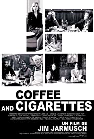 Bill Murray, Cate Blanchett, Tom Waits, Iggy Pop, Renee French, RZA, Jack White, The GZA, and Meg White in Coffee and Cigarettes III (1993)