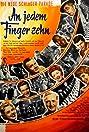An jedem Finger zehn (1954) Poster