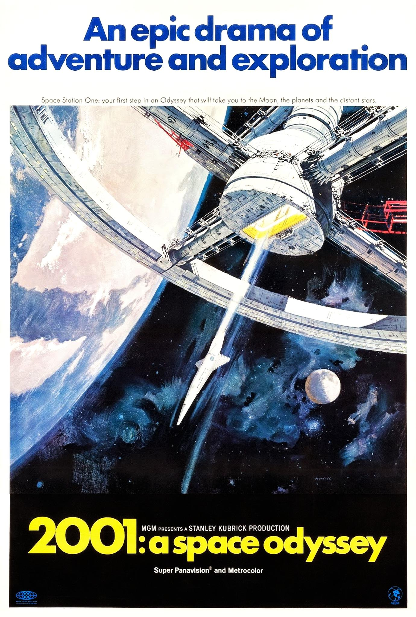 2001: A Space Odyssey (1968) BluRay 720p & 1080p