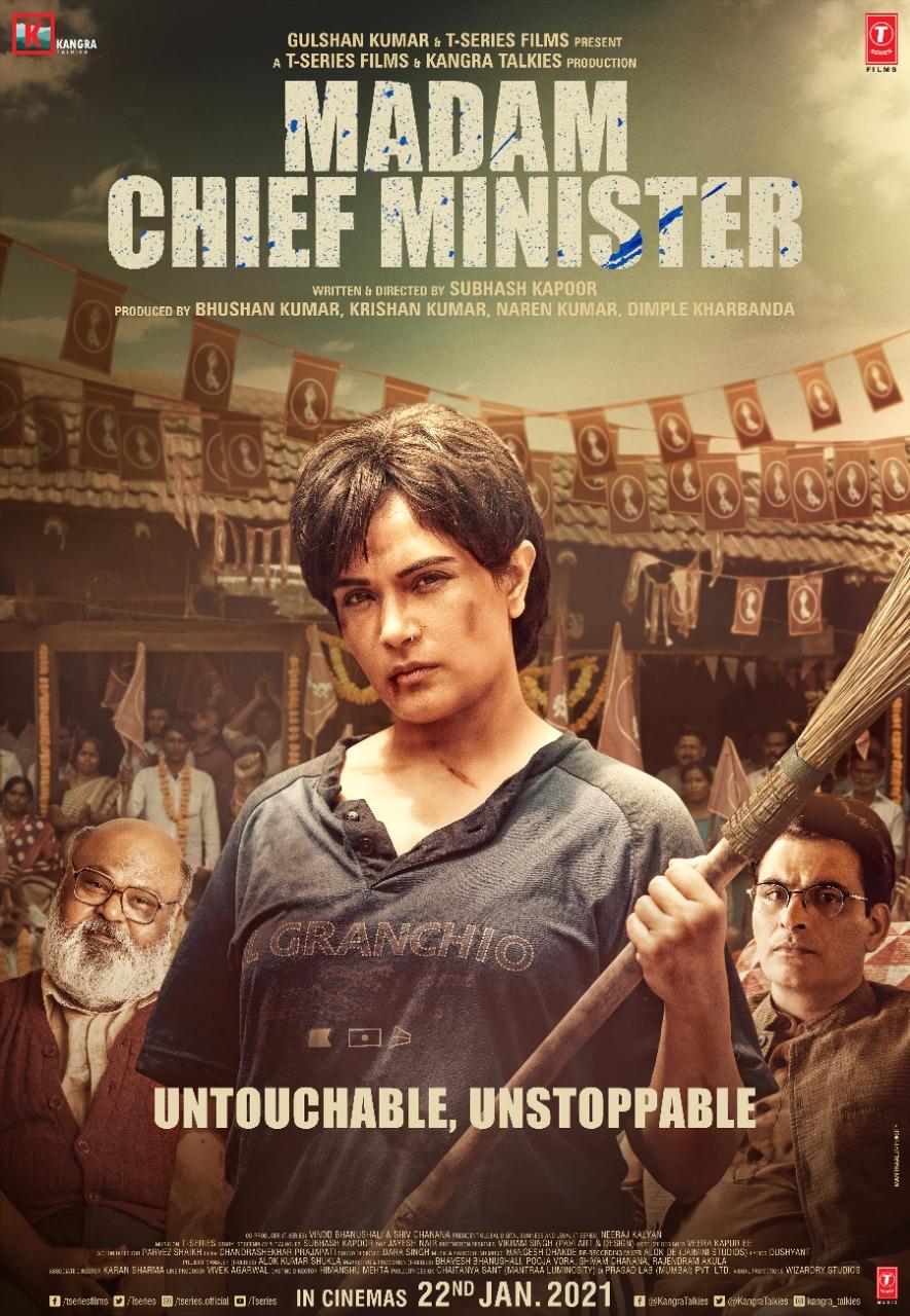 Madam Chief Minister 2021 Hindi 720p pDVDRip 950MB Download