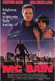 Christopher Walken and Maria Conchita Alonso in McBain (1991)