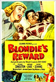 Blondie's Reward Poster