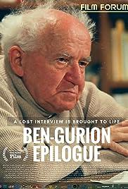 Ben-Gurion, Epilogue Poster