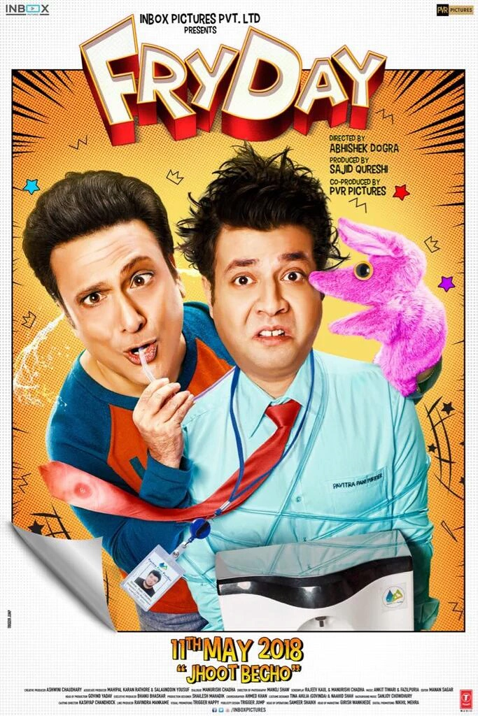 FryDay 2018 Hindi Movie 720p HDRip 700MB Download